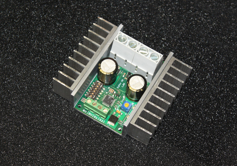 Syren 50a regenerative motor driver analog r c and for Regenerative dc motor control