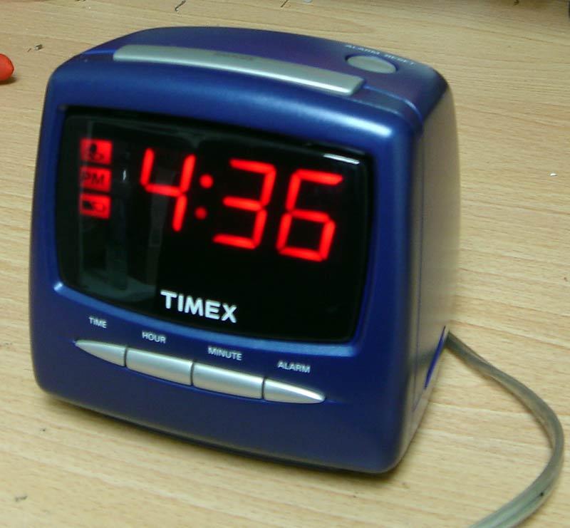 DE-ACCM application note: Hacking an alarm clock