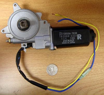 Denso geared motor