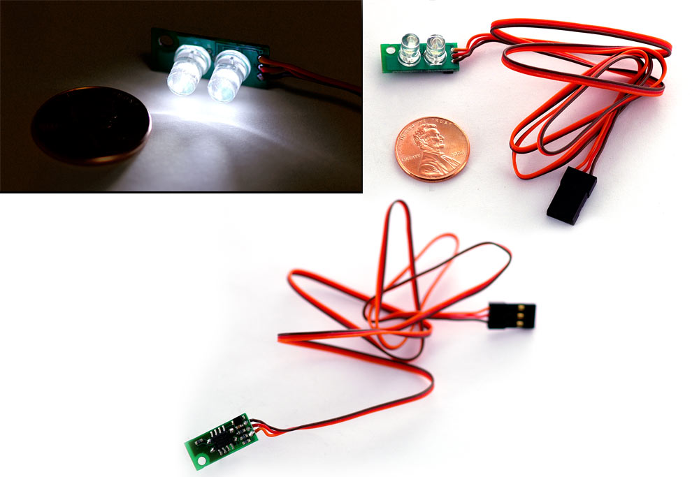 EasyLights - controllable R/C LED lighting system