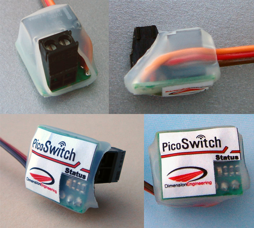 PicoSwitch Radio Controlled Relay Switch - Rc car relay switch